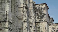 Lisbon Portugal 6 Jeronimos Monastery Stock Footage