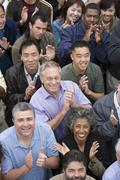 Group Of People Clapping Together - stock photo
