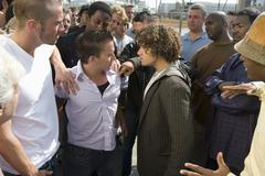 Confrontation Between People - stock photo