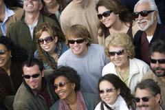 Group Of People Wearing Sunglasses Stock Photos
