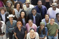 Stock Photo of Group Of African American People