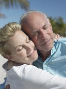 Senior Couple Lost In Love - stock photo