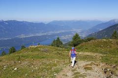 Austria, Carinthia, Nock Mountains, Millstaetter Alpe, Lammersdorfer Berg, Stock Photos
