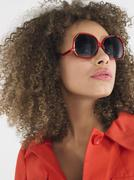 Stylish Woman In Sunglasses Stock Photos