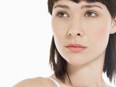 Stock Photo of Closeup Portrait Of Beautiful Woman