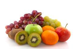 Fruit diversity Stock Photos