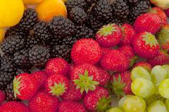 fruit diversity - stock photo