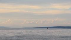 Islands on horizon 6 Stock Footage
