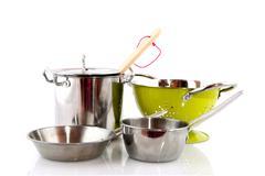 kitchen equipment - stock photo