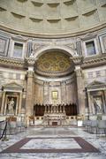 Pantheon Altar Stock Photos