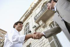 Business Handshake For Successful Deal Stock Photos