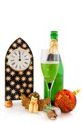 dutch new years eve - stock photo