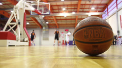 Basketball Game - stock footage