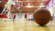 Stock Video Footage of Basketball Game