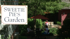 Sweetie Pie's Garden (1 of 2) Stock Footage