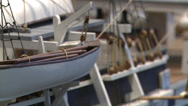 Stock Video Footage of Inside the whaling museum (4 of 5)