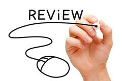 online review concept - stock photo