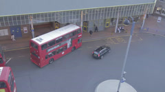 Timelapse Uxbridge Central Bus Station Stock Footage