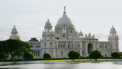 Calcutta Victoria Memorial Stock Footage