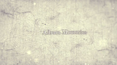 Album Memories Stock After Effects