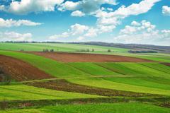 Arable land Stock Photos