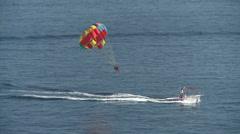 Stock Video Footage of Balloon ride at sea in Croatia