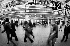 New York City Night Life - stock photo