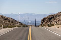 Stock Photo of road to stratosphere las vegas