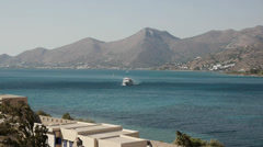 Greek island 5 Stock Footage