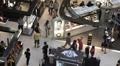 Shopping Center Galeries Lafayette Department Store Paris Most Famous Luxury HD Footage