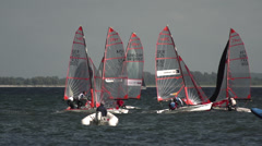 Sailing Race Kiel Week 2013-1 Stock Footage