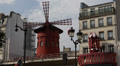 Famous Iconic Moulin Rouge Entertainment Show Paris Variety Show Sightseeing Footage