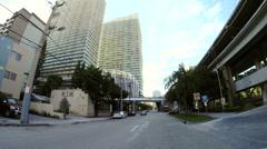 Brickell Miami Florida Stock Footage