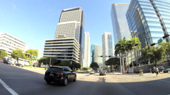 Driving on Brickell Avenue Stock Footage