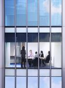 Business People At Meeting In Office Stock Photos