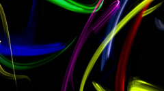 Lights 4k pattern abstract neon Stock Footage