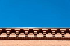 background eaves - stock photo