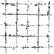 scratched grid - stock illustration