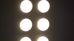 Stroboscopic Club Lights (Super Slow Motion) Stock Footage