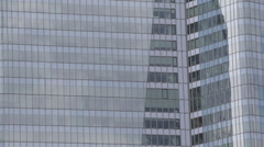 La Defense Business District Paris Corporate Building Office Tower Skyscrapers - stock footage