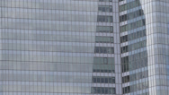 Stock Video Footage of La Defense Business District Paris Corporate Building Office Tower Skyscrapers