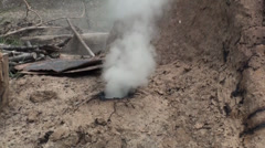 Traditional Charcoal Production - 15 Stock Footage
