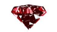 Stock Video Footage of Red crystal rotation