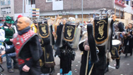 Stock Video Footage of Traditional carnival in Cologne
