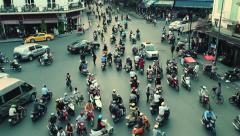1080 - HOAN KIEM DISTRICT - HANOI TIME LAPSE Stock Footage