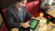Stock Video Footage of Man with ipad