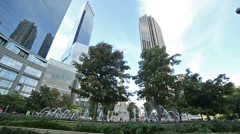 Columbus Circle in New York City Stock Footage