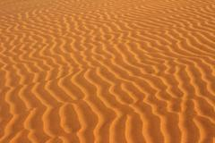 Sand in desert ripple background Stock Photos