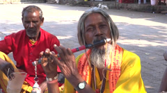 Indian hermit Stock Footage