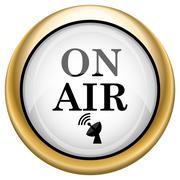 On air icon Stock Illustration